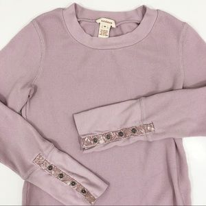 Sundance velvet thermal top